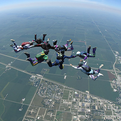 Business Consulting Skydive